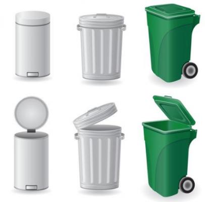 vuilnisbak en afvalbak